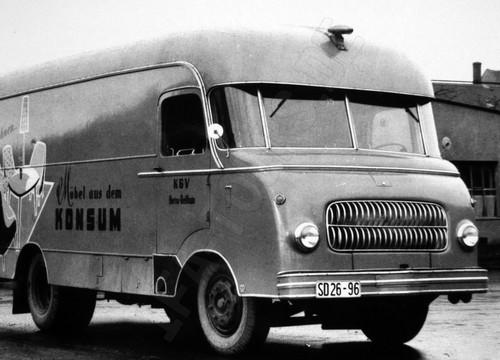 IFA LKW H3A Kofferfahrzeug
