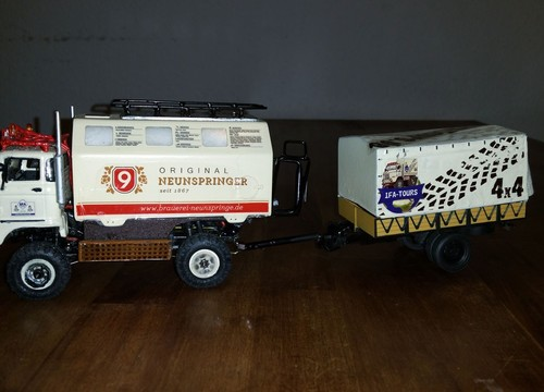 "IFA LKW W50 LA/A/C ""Expedition"" als RC Version in 1:43"
