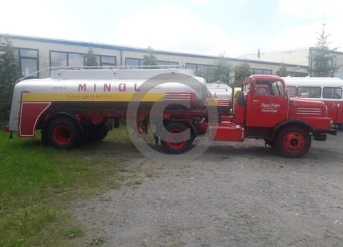 IFA Minol Tankwagen Treibstofftankwagen