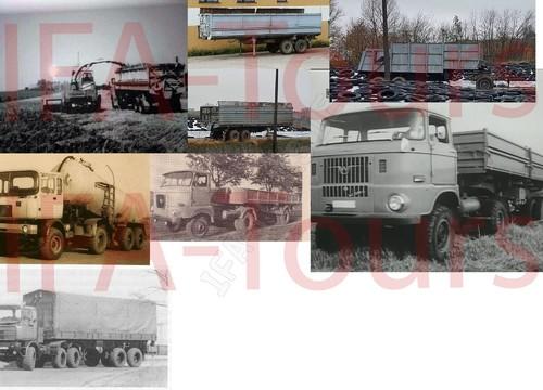 Verschiedene Prototypen und Umbauten von IFA LKW´s