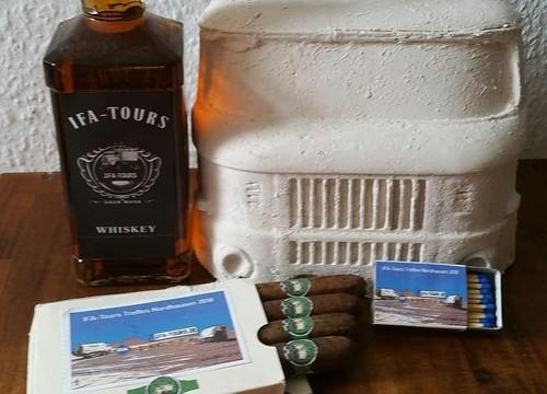 IFA-Tours Whiskey, Zigarren und Streichhölzer