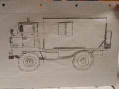 IFA LKW L60 - Zeichnung