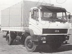 IFA LKW L60 Prototyp in Zusammenarbeit mit Mercedes Benz