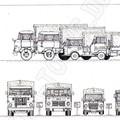 IFA LKW Typen im Vergleich - Zeichnung