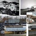 Zwillingsachsen Anhänger für IFA LKW W50 Sattelzugmaschine