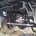 Stabilisator an der Hinterachse beim IFA LKW W50