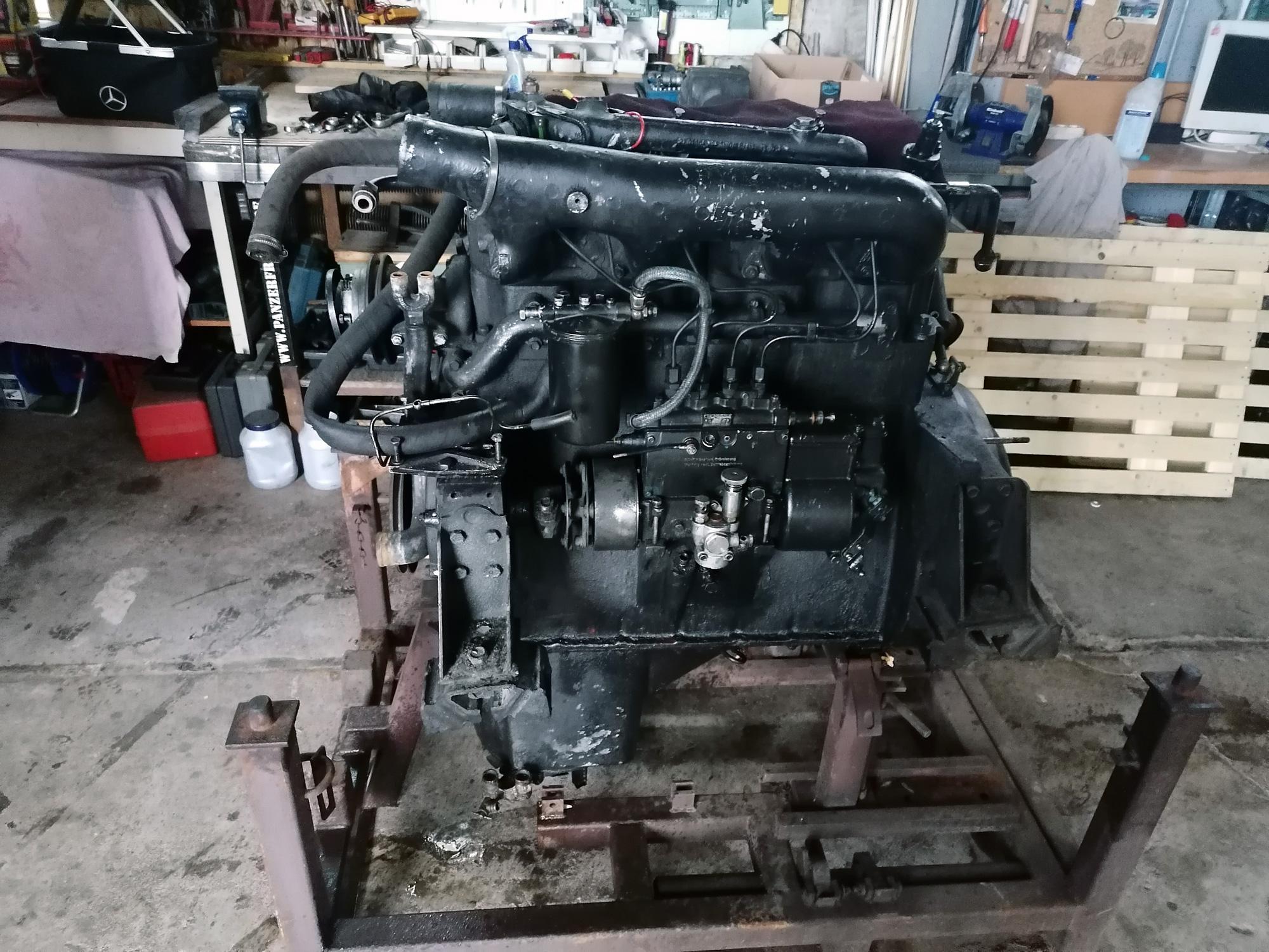 IFA LKW W50 - Motorausbau