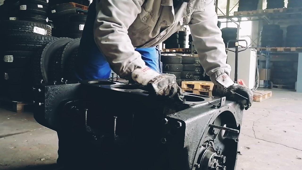 IFA LKW W50 - 4VD Motormontage