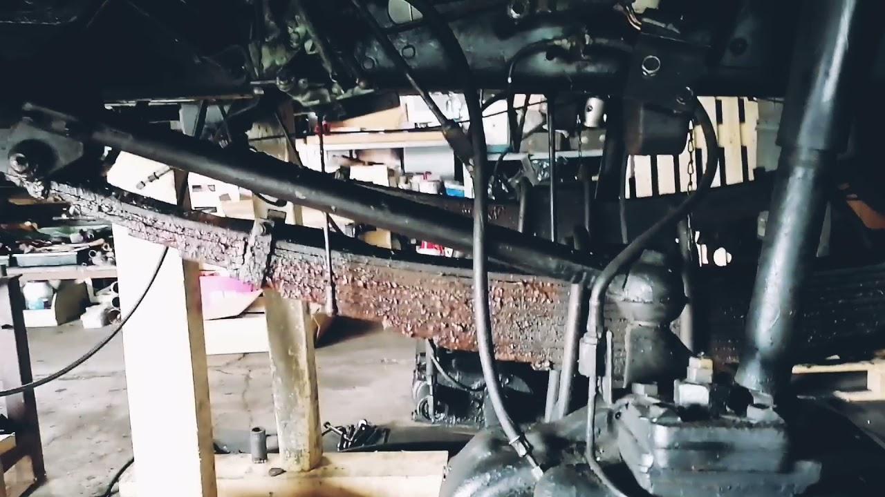 IFA LKW W50 - Vorderfedern wechseln