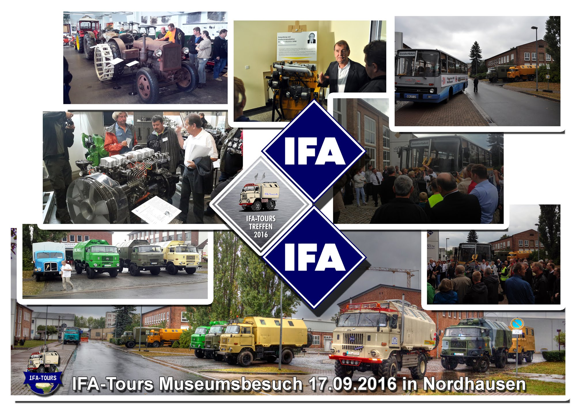 IFA-Tours Treffen 2016 Nordhausen - Besuch im IFA-Museum