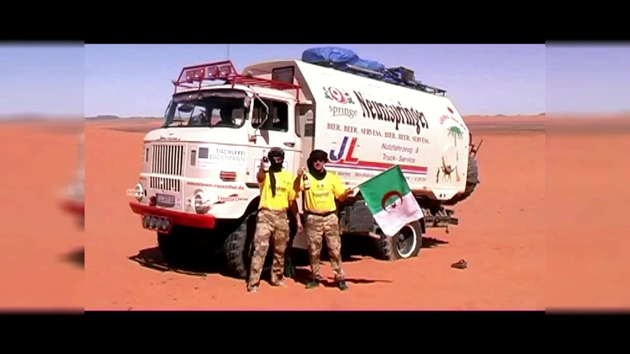 Durchquerung der Sahara mit dem IFA LKW W50