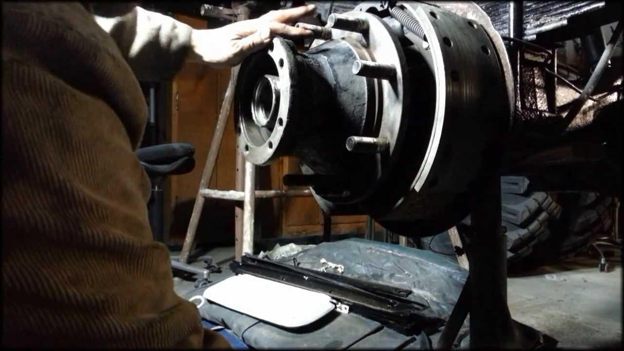 Die IFA Garage - Projekt IFA W50 Überholung - Neue Radlager - Teil 5