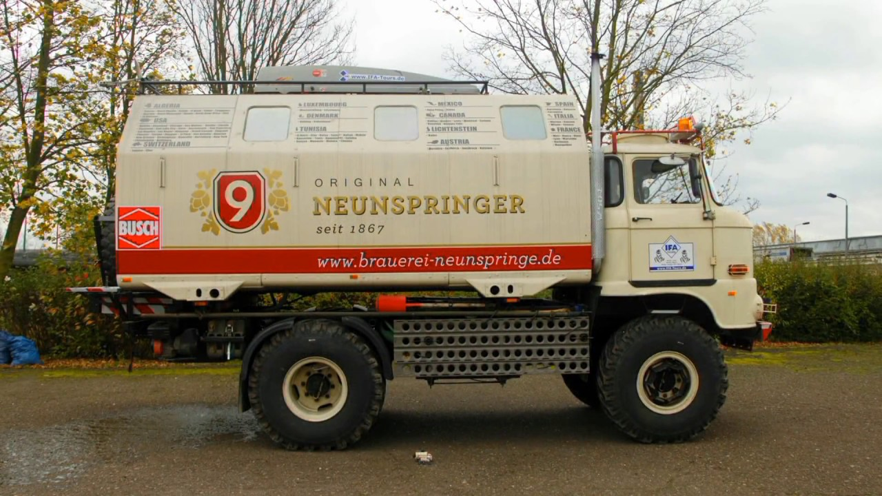 IFA LKW W50 - Expedition
