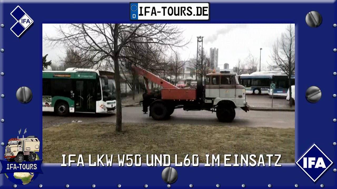 IFA LKW W50 und L60 auch heute noch im Einsatz