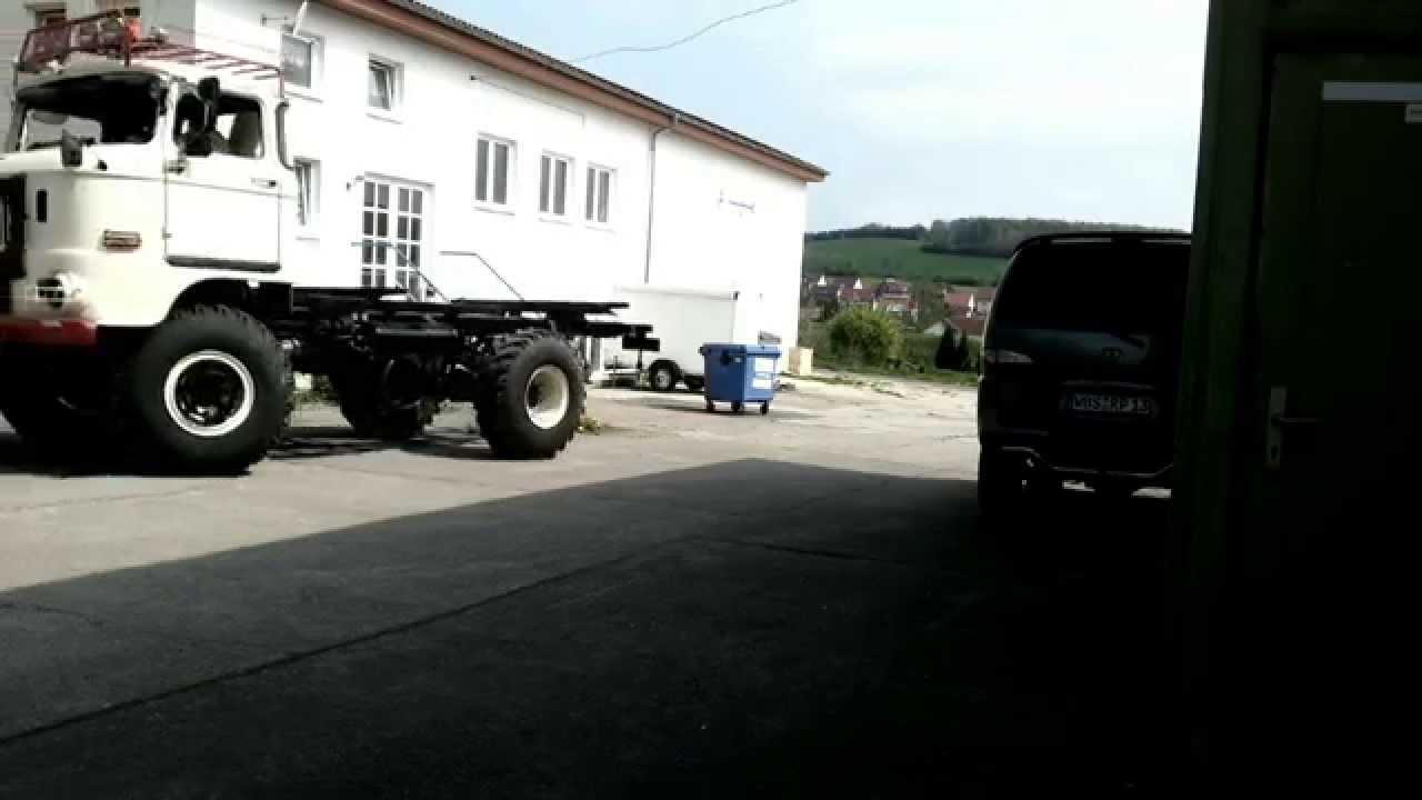 Die IFA Garage - Projekt IFA W50 Überholung - Erste Probefahrt - Teil 8