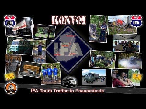 IFA Konvoi 2019 - IFA-Tours Treffen in Peenemünde - Besichtigung Heeresversuchsanstalt Peenemünde