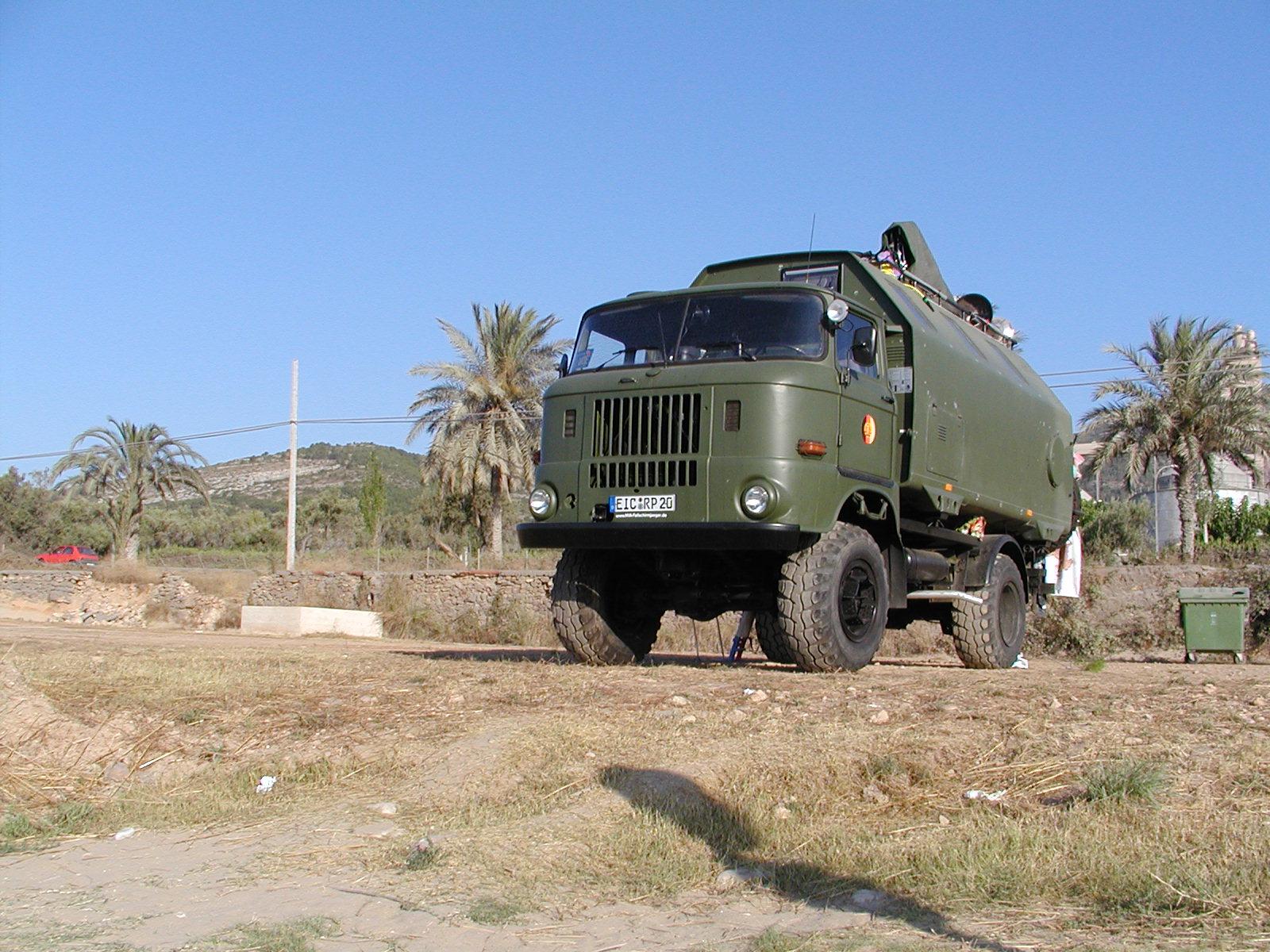 IFA W50 unterwegs in Spanien