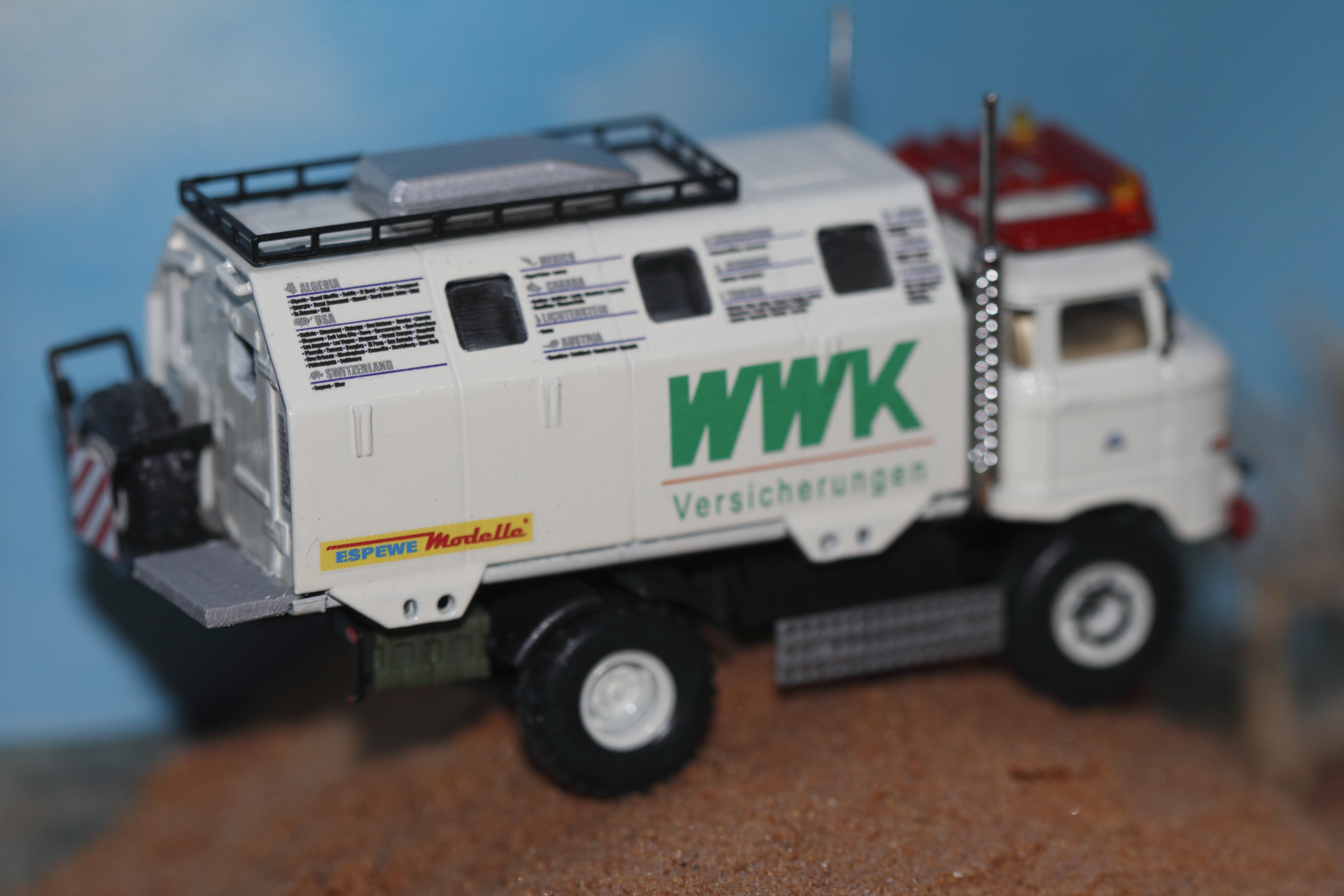 """IFA W50 LA/A/C """"Expedtion"""" Modell in 1:87 WWK ESPEWE"""