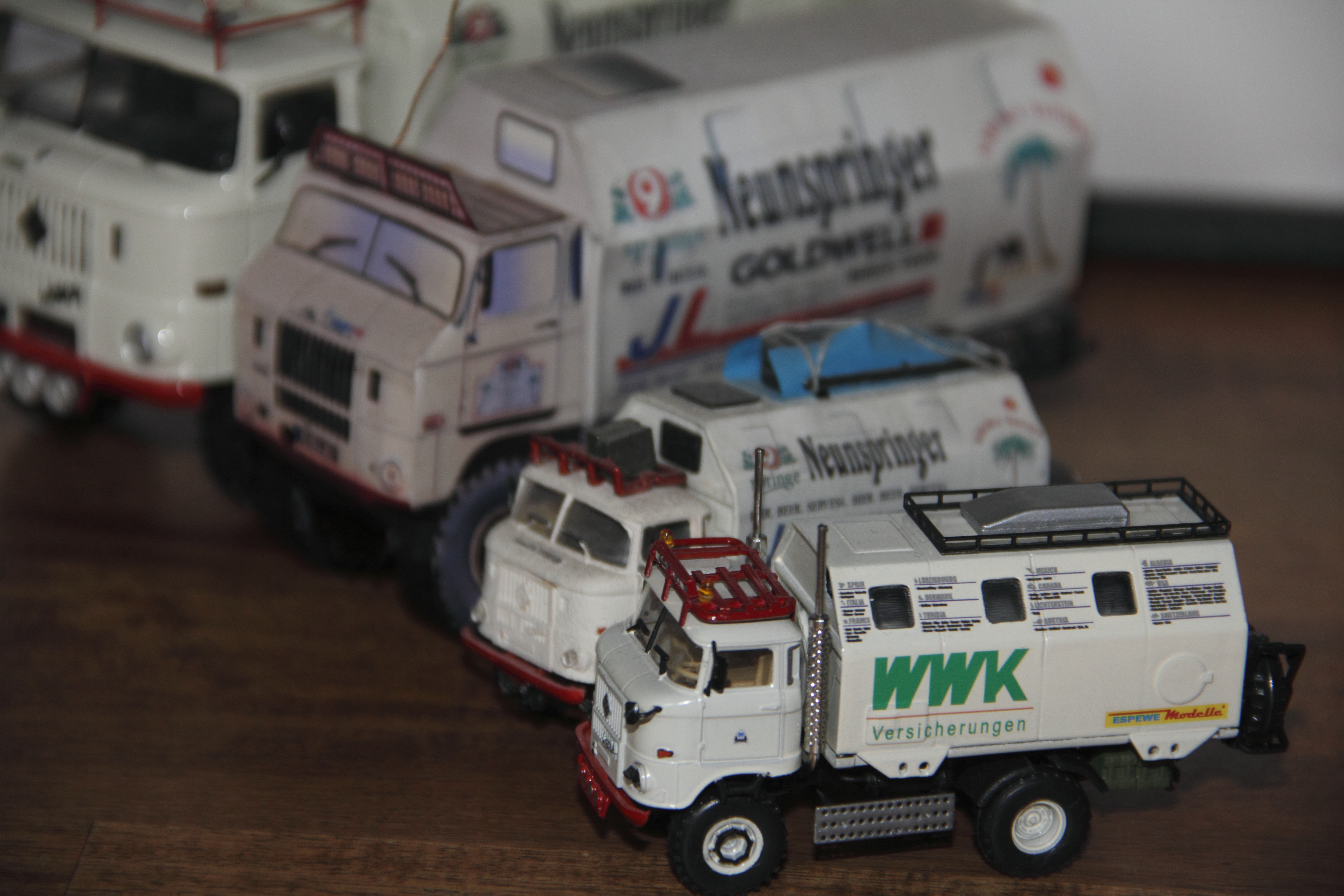 """IFA W50 LA/A/C """"Expedtion"""" Modell in 1:87 WWK"""