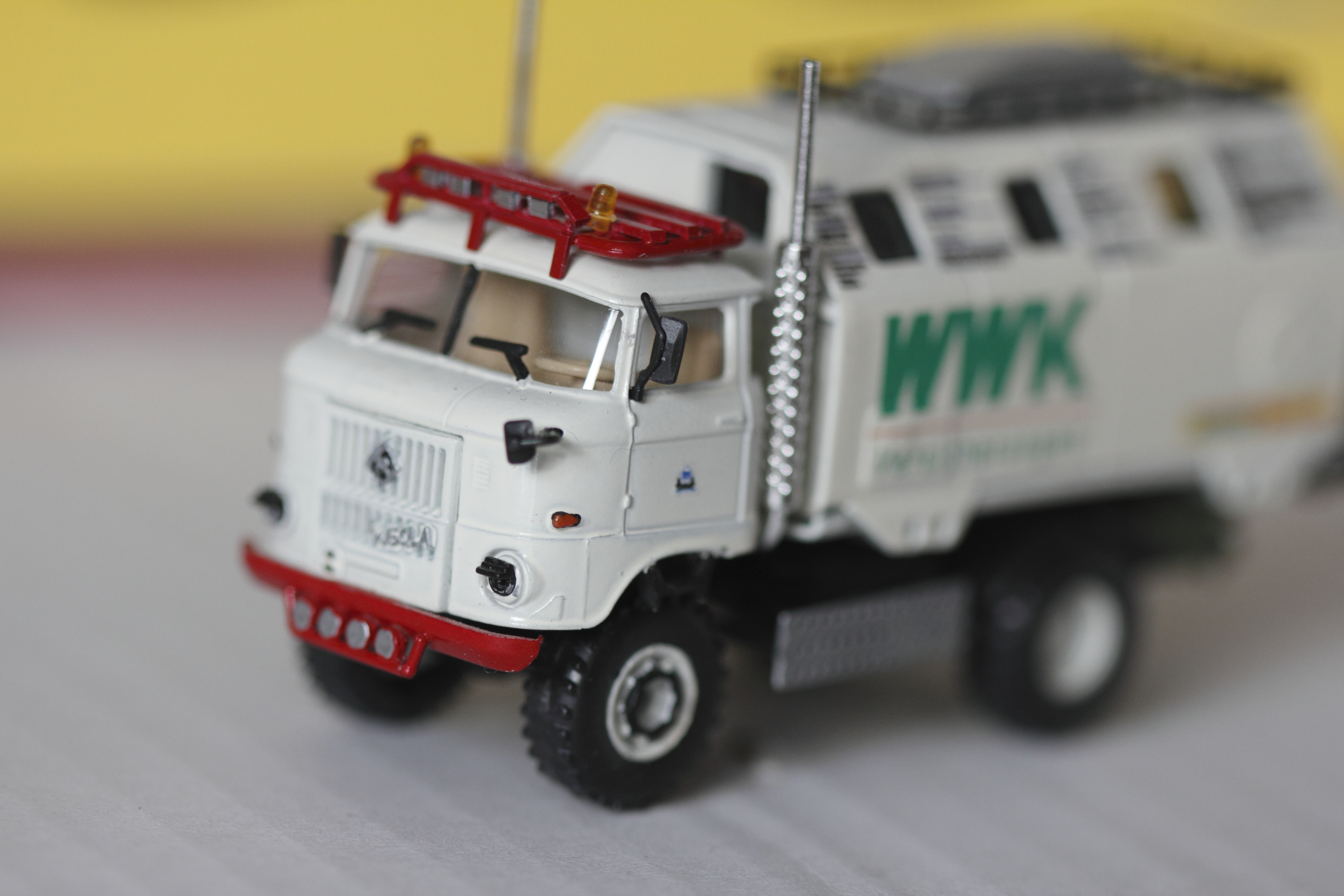 """IFA W50 LA/A/C """"Expedtion"""" Modell in 1:87"""