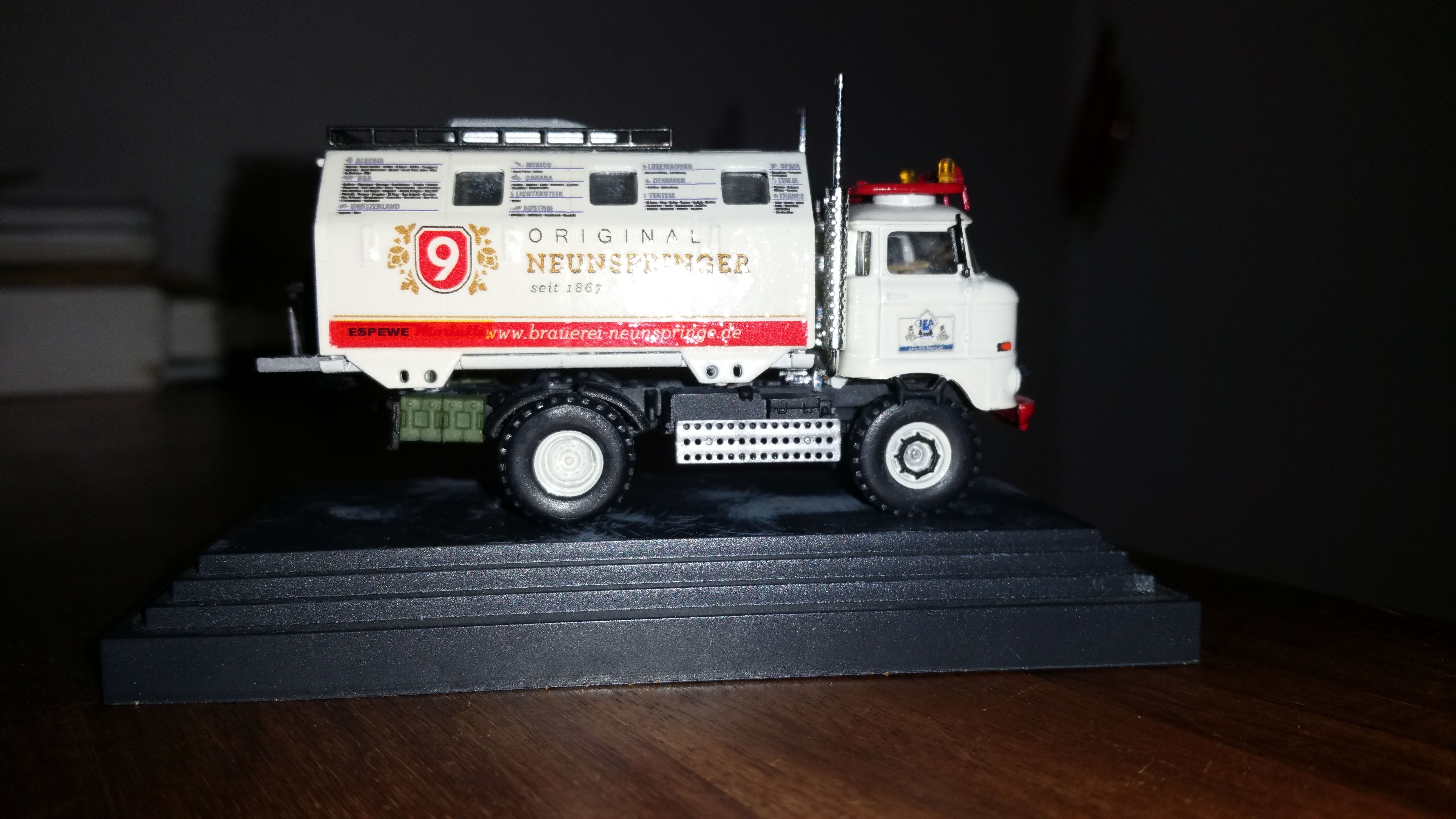"""Modell IFA LKW W50 LA/A/C """"Expedition"""" in 1:87"""